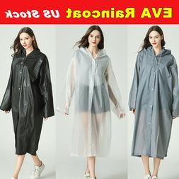eva rain coat waterproof jacket clear raincoat