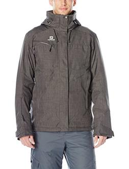 Salomon Men's Fantasy Jacket, Galet Grey, XX-Large