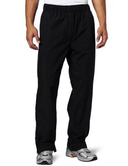 Zero Restriction Men's Featherweight Pant Rain Pant, Black,