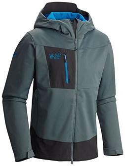 Outdoor Research Men's Ferrosi Summit Hooded Jacket, Fatigue