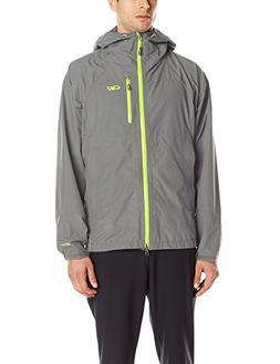Outdoor Research Men's Foray Jacket, Pewter/Lemongrass, Larg