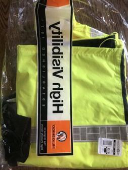 ML Kishigo Full Rainsuit RW110 S-5XL Safety Lime Rain Jacket