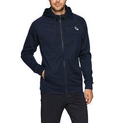 Asics Full Zip Up Hoodie Lightweight Rain Jacket Mens Hoodie