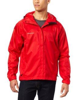 Grunden's Men's Gage Weather Watch Jacket, Red, XX-Large