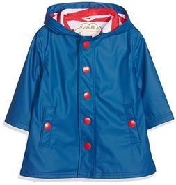 Hatley Girls' Big Girls' Splash Jacket, Navy, 12