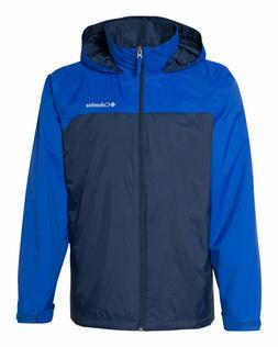 Columbia Glennaker Lake Lined Rain Jacket Full Zip Coat Mens