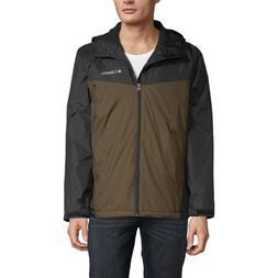 Columbia Glennaker Sherpa Lined Rain Jacket, Waterproof, Bla