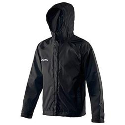 Grundéns Men's Weather Watch Hooded Fishing Jacket, Black -