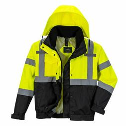 Portwest US365 Hi-Vis Reflective Premium 3-in-1 Safety Work