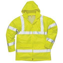hi vis rain jacket h440 yellow s