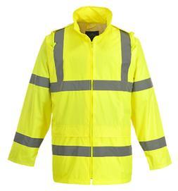 hi vis rain jacket h440