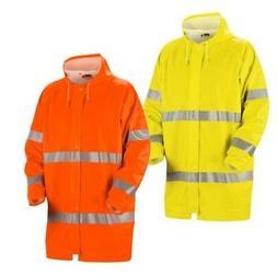 Blaklader Hi Vis Wind & Waterproof  Long Rain Jacket - 4324