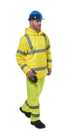 Portwest Hi-Viz ANSI Class 3 Rain Jacket & Class E Rain Pant