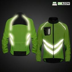 High Visibility Bike Men's Waterproof Lightweight Safety Cyc