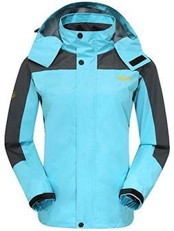 Wantdo Women's Hiking Apparel Windproof Clothing Cycling Jac