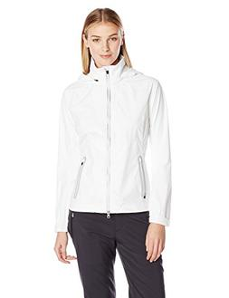 Zero Restriction Women's Hooded Olivia Packable Rain Jacket,