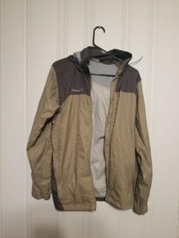 Columbia Hooded Rain Jacket Men's Size Small
