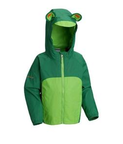 Columbia Infant Kitteribbit Fleece Lined Rain Jacket - 2T -A