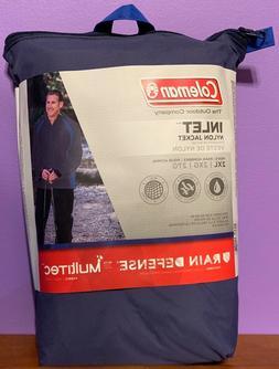 Coleman INLET Nylon Jacket Rain Defense Coat Men Waterproof