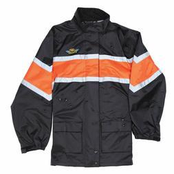 J&P Cycles One-Piece Top Quality Rain Suit Size M Jacket