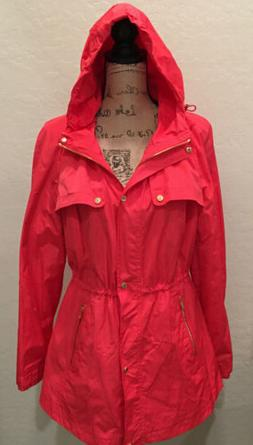 Calvin Klein Jacket  Size Small Wind Rain  $159 Gold Accents