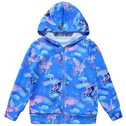 Jxstar Jackets for Kids Blue Jacket Jackets for Girls Bolero