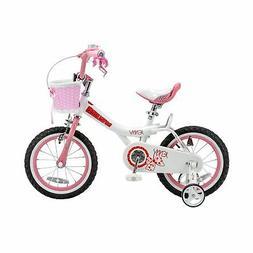"""14"""" Royalbaby Jenny Girls' Bike, Pink"""