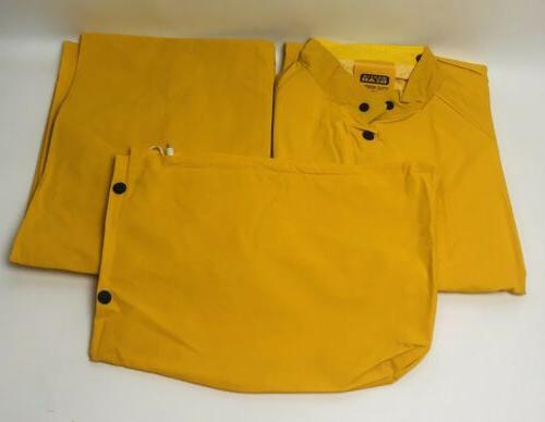 3 Piece Rain Jacket Detachable