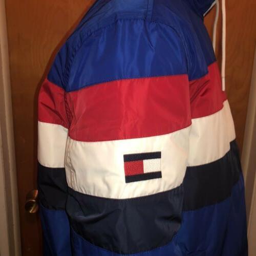🔥90's Retro Tommy Zip Rain Jacket Men's