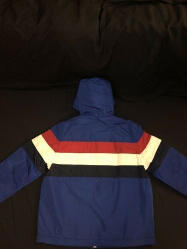 🔥90's Retro Zip Rain Jacket Men's