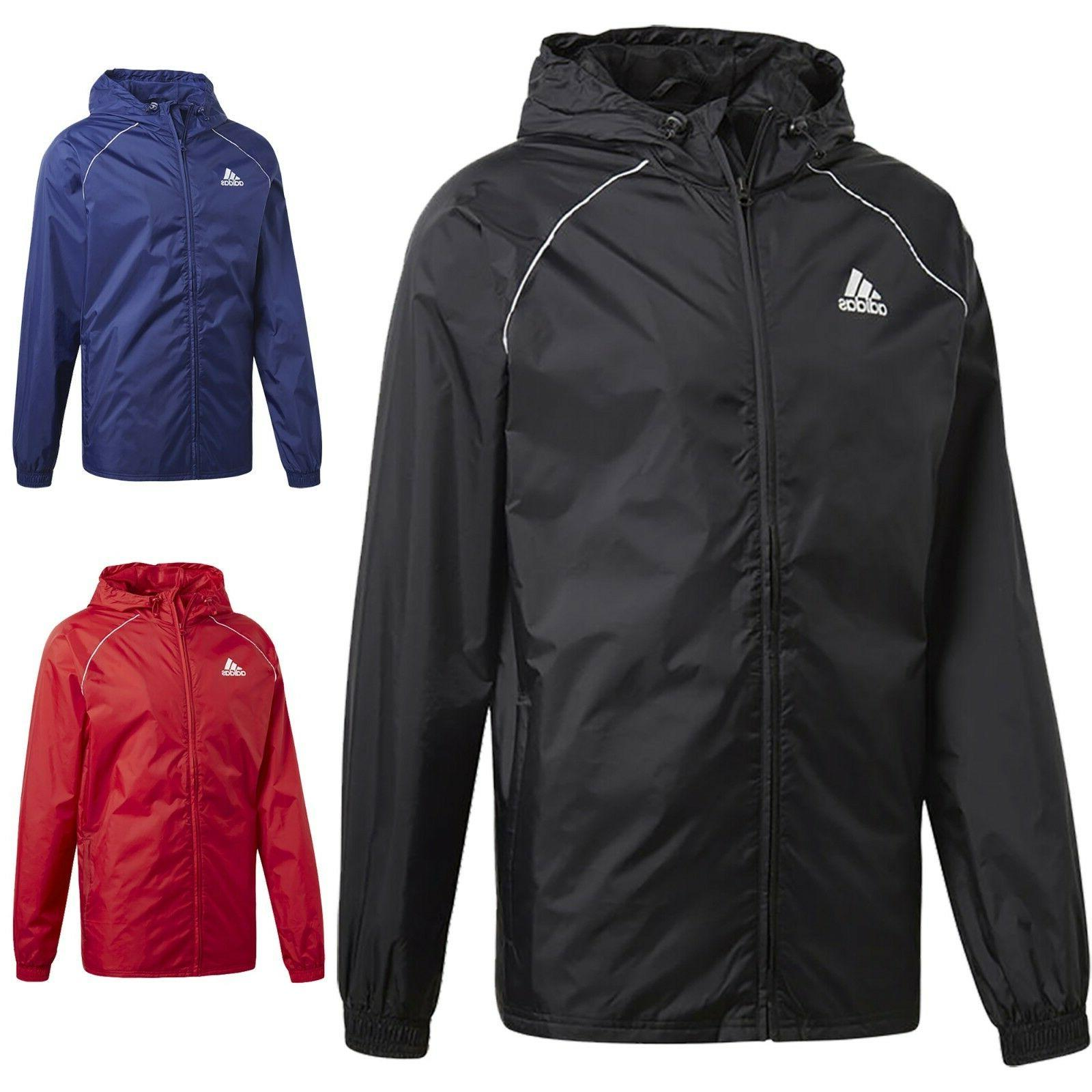 Adidas Jacket Waterproof Hooded Wind