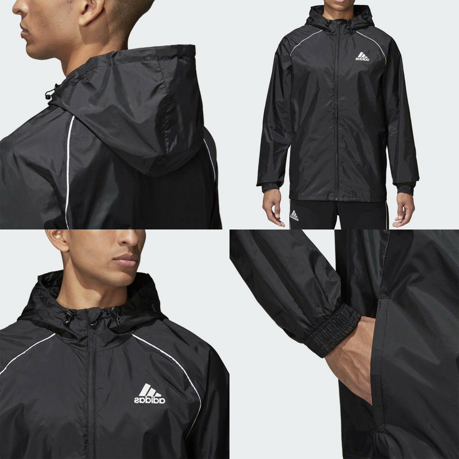 latest design hot-selling clearance top-rated quality Adidas Mens Lightweight Rain Jacket Waterproof Coat Top