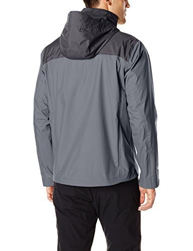 Columbia Men's Rain Graphite/Black,