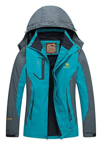 Women Hooded Softshell Hiking Waterproof Coat