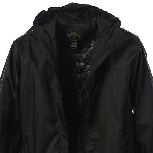 Gioberti Men's Jacket, Black, L