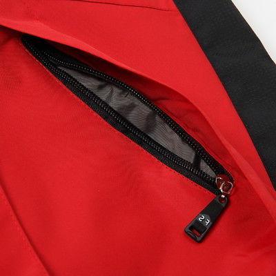 Men Hoodie Coat Jacket Winter Shell Rain Coat BJ