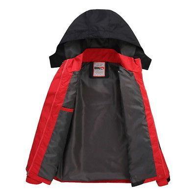 Men Waterproof Hoodie Coat Jacket BJ
