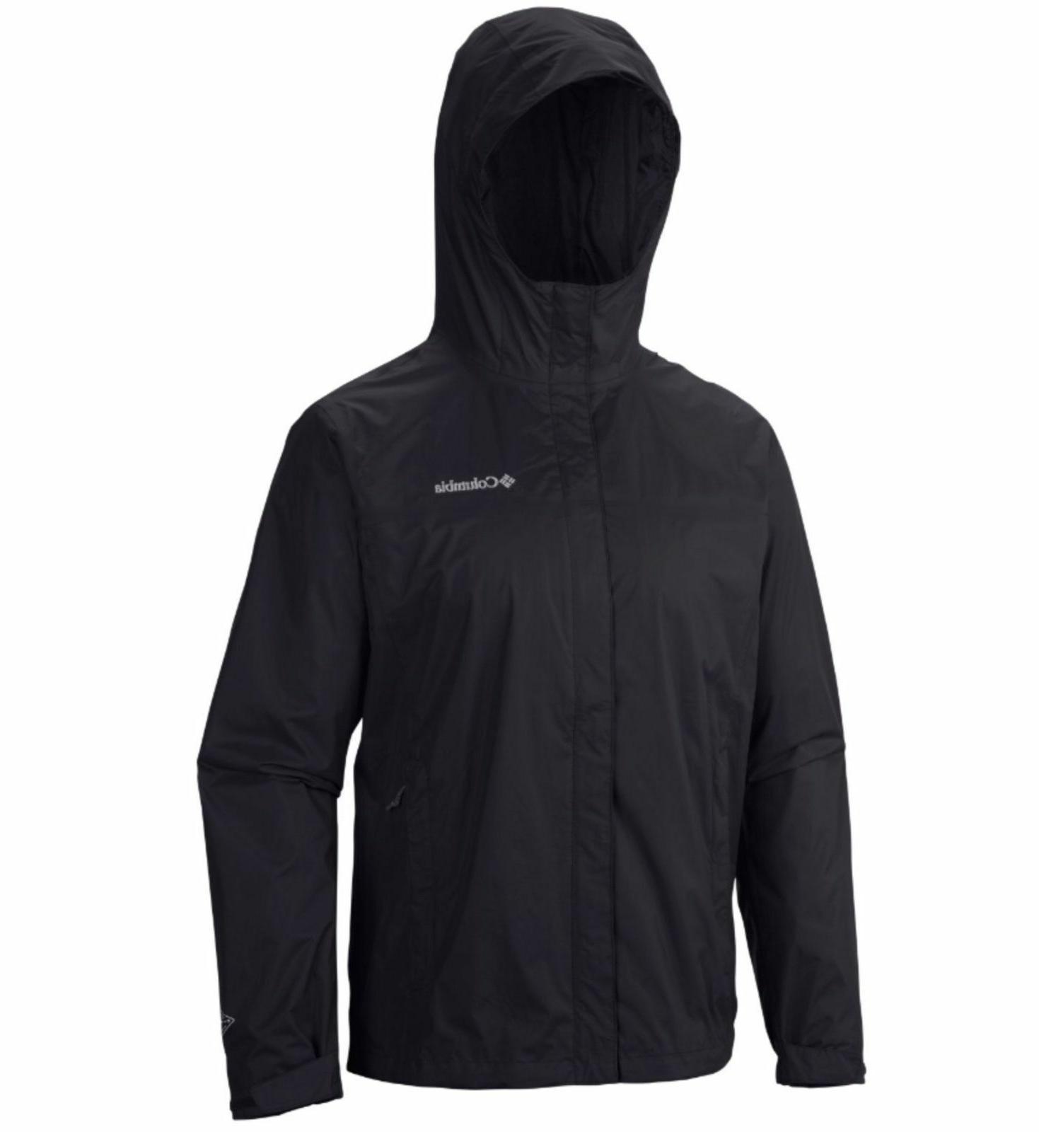 New mens Pointe waterproof rain jacket coat Tall