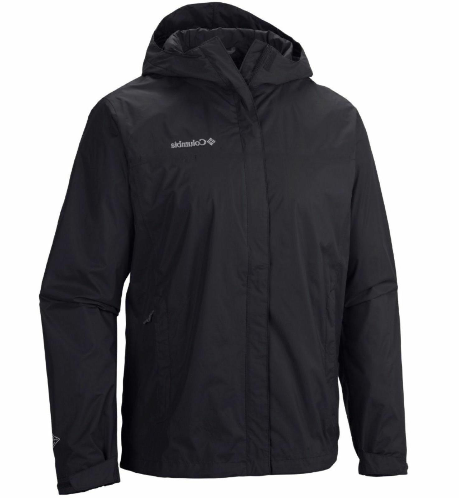 New Columbia Pointe waterproof hooded jacket Tall