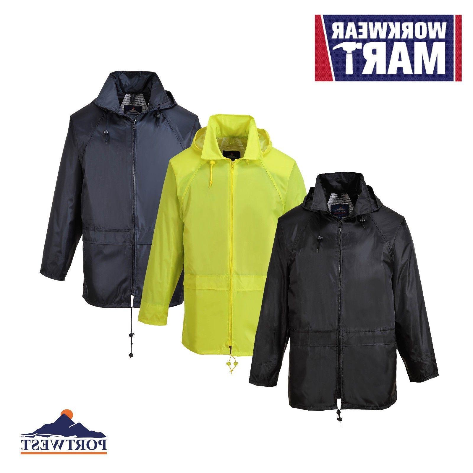 Portwest Classic Rain wth Pack Away Seams