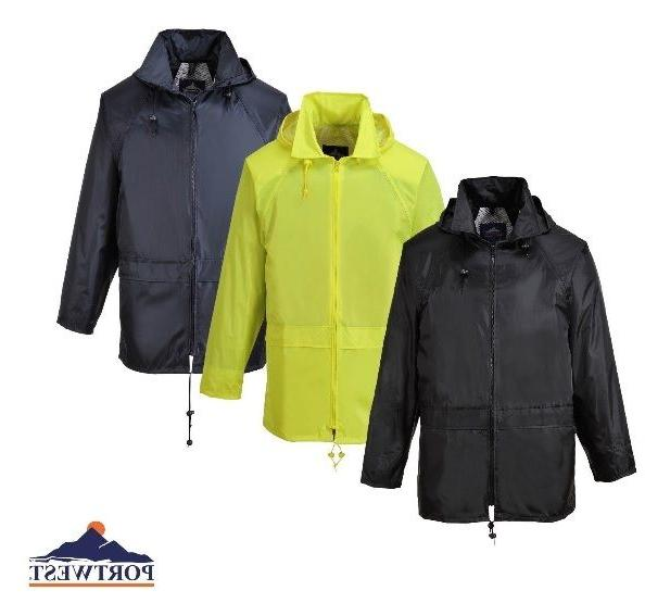 Portwest US440 Classic Rain Jacket, Outdoor with