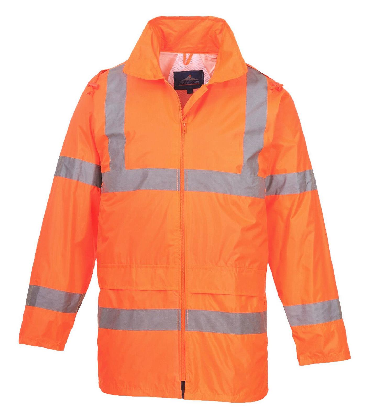 Safety Jacket w Hood S-7XL