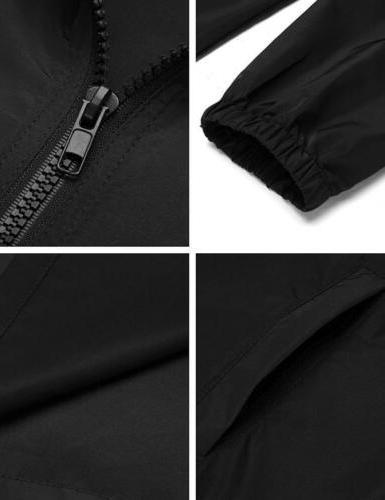 UNibelle Women's Rain Jacket Active Hooded...