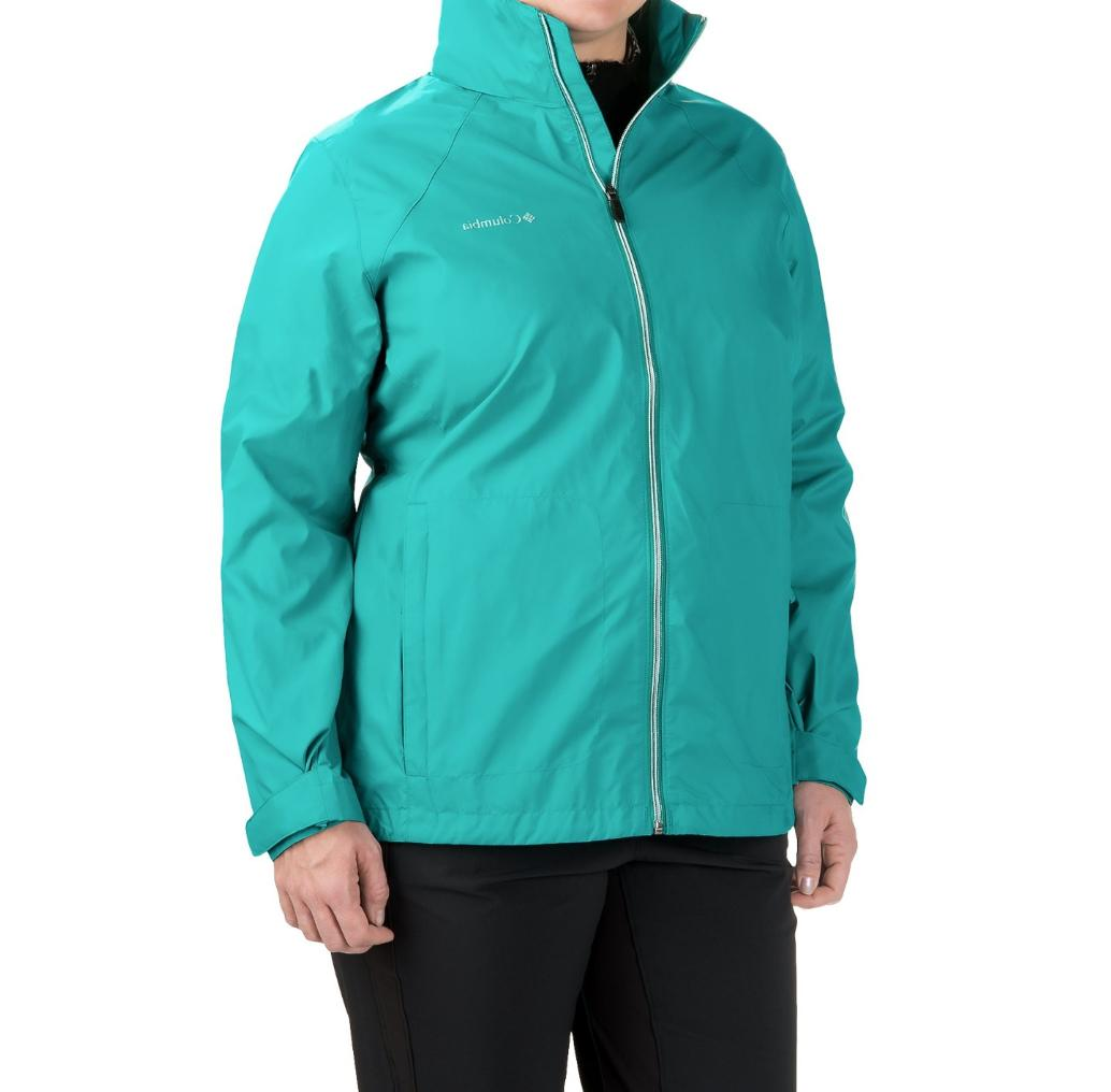 Womens 3X Columbia switchback rain wind jacket