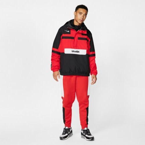 Nike Air Woven Black Zip Rain