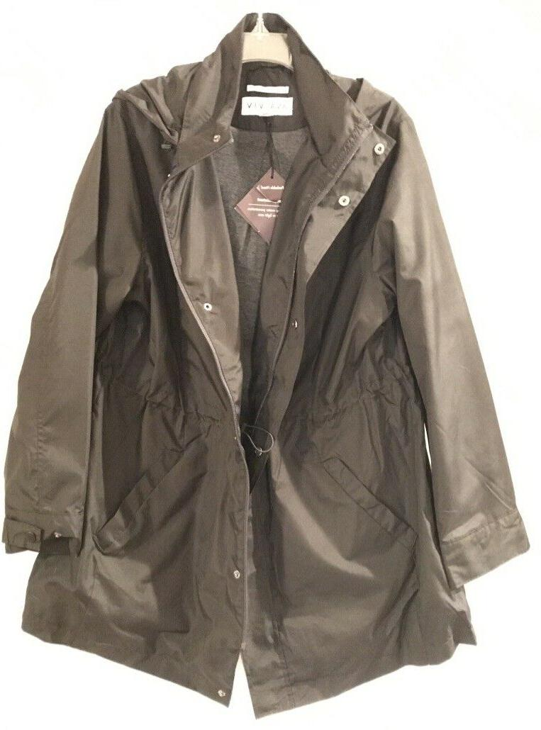 Ava rain Plus size 4X Black NEW
