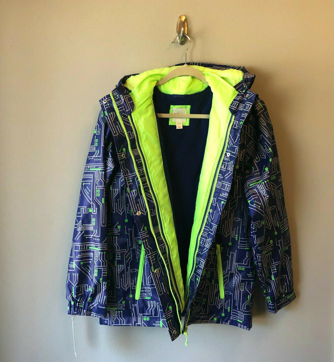 Boys 3 Rain Jacket Coat Outerwear