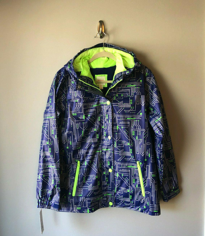 boys 3 in 1 rain jacket coat