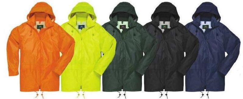 classic rain jacket waterproof with sealed seams