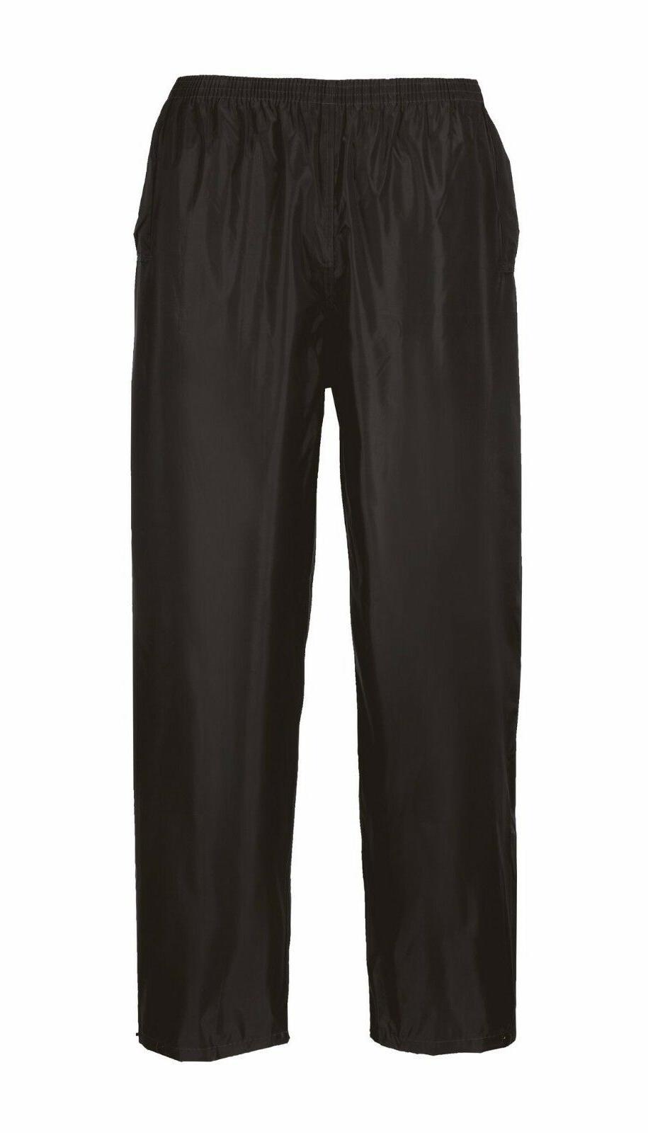Portwest Rain Jacket Pant Black/Navy